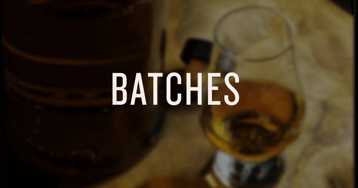 American Single Malt Batches